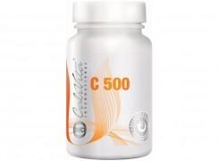 Witamina C 500 Calivita, naturalna, lewoskrętna, odporność organizmu