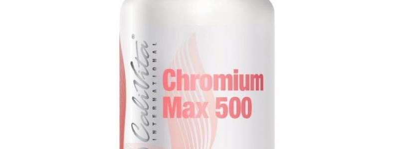 Chromium Max 500 CaliVita, Wzrost mięśni, Odchudzanie, Zmniejszenie tkanki tłuszczowej