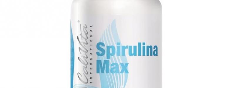 Spirulina Max CaliVita, Odtruwanie organizmu z metali ciężkich i toksyn